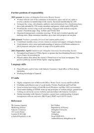 How To Write A Graduate Cv Template Examples