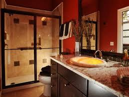 Dark Red Bathroom Red And Tan Bathroom Designs Dark Red Masculine Bathroom The