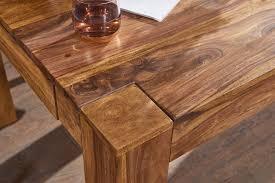 Finebuy Esstisch Massiv 160 240 Cm Ausziehbar Massivholz Esszimmer Tisch Neu