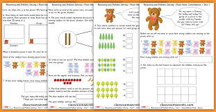 Place Value Consolidation Year 1 Block 4 WRM Reasoning and Problem ...