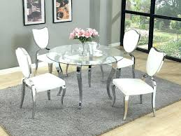 circular kitchen table and chairs glass top kitchen table and chairs large size of living top