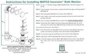 bathtub overflow plate replacement tub kohler removal
