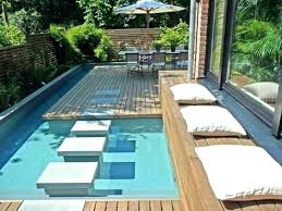 Backyard Pool Designs Mesmerizing Swimming Pool Designs For Small Yards Design Backyard Plans