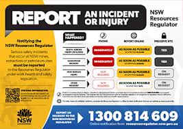 Report An Incident Or Injury Nsw Resources And Energy