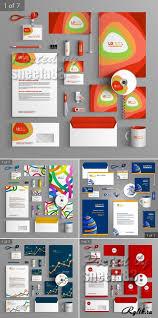 identity Страница ru сайт графики и дизайна Скачать  Корпоративный стиль векторные шаблоны corporate identity templates vector 4