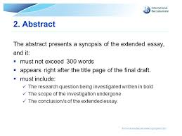 good extended essay abstracts how to make your good extended essay great ibmastery