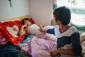 Chinese teen couple community