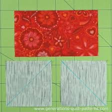 Evening Star Quilt Block Tutorial - 4 , 6 , 8 , 10  and 12  blocks & A Flying Geese takes 3 patches Adamdwight.com