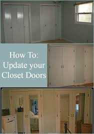 closet door makeover reveal dremel weekends closet door makeover door makeover and closet doors