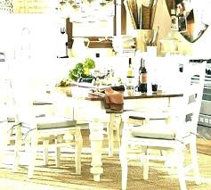 dining room tables for round dining tables for your pottery barn dining room
