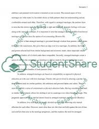 arrange marriage vs love marriage essay example topics and well related essays love in marriage
