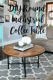 15 diy round coffee table ideas free