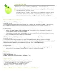 Examples Of Teachers Resumes Netgearsupportus Enchanting Teaching Resumes