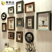 retro picture frames wooden photo frames vintage frames for wall retro frame for canvas pieces picture