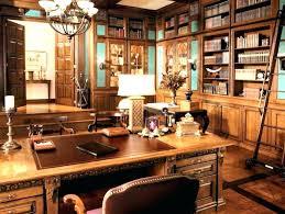 home office decor brown. Rustic Home Office Desk Baybrin Brown Decor E