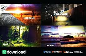 After Effect Presentation Template Free Free Photo Slideshow Template Mosaic Picture Slideshow After Effects