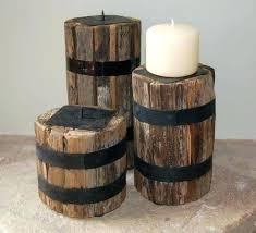 reclaimed wood candle holders set of 3 designs votive diy tea light holder candl