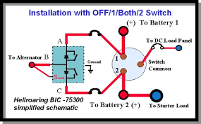 boat dual battery switch wiring diagram wiring diagrams dual battery switches 3 banks the hull truth boating
