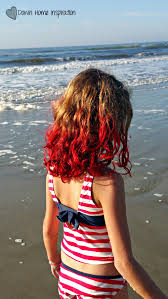 that time i colored my kid s hair with kool aid you ve gotta see this down home inspiration