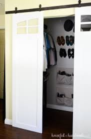 if you don t like bifold or mirrored closet doors these sliding barn doors