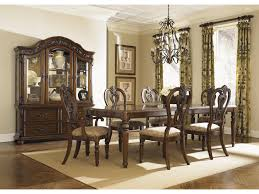 Liberty Furniture Messina Estates Arch Top China Cabinet Novello - Dining room table and china cabinet
