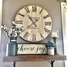 kitchen wall decor ideas the wooden clock