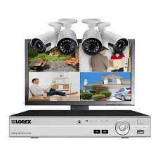 Additional image #4 for Lorex, MPX44MUW Buy Lorex MPX44MUW, Home Security System with 4-Channel DVR, 4 HD
