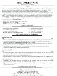 Project Manager Resume Objective Examples Project Manager Resume