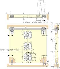 bottom stopper for fd30 f folding door