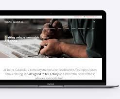 Memorial Website Design Home Apotheca Marketing Website Design