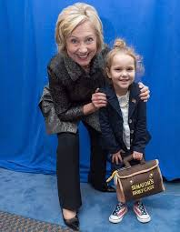 A photo of a 4-year-old with Hillary Clinton was used as a disgusting meme.  Her mom fought back. - The Washington Post