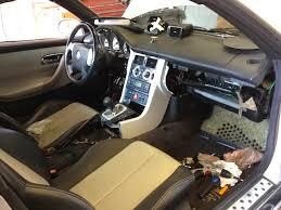 auto upholstery the hog ring mercedes benz slk interior paint