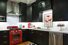 red and black kitchen decor black red kitchen entrancing interior set with black red kitchen design red and black kitchen decor