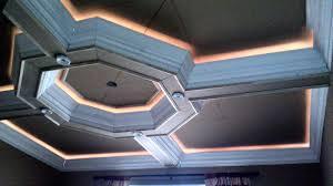 coffered ceiling lighting. Custom Designed Octagon Coffered Ceiling With Rope Lighting. Lighting