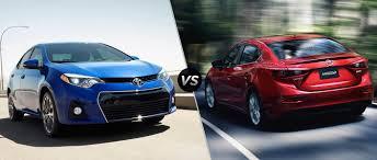 2015 Toyota Corolla vs 2015 Mazda3