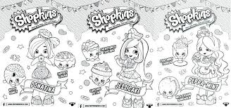 Shopkins Shoppies Coloring Pages Coloring Pages Printable Sheet Girl