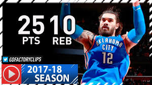 Steven Adams Full Highlights vs ...