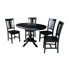 round dining table for 12 with leaf and 4 chairs black 5 piece set free today seater modern seats dimensions wit