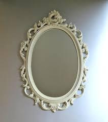 fancy mirror frame. Fancy White Mirror   Vintage Syroco Mirror, Ornate Frame R