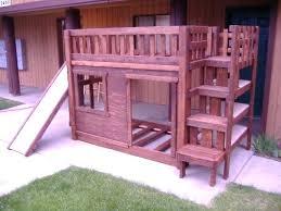 the bunk bed set with slide plan full size loft plans diy the bunk bed set with slide plan full size loft plans diy