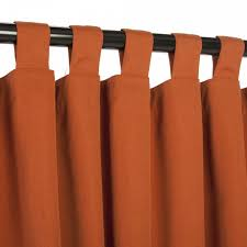 exciting homemade orange curtains hang on black painted iron rods as ds for windows treatment in