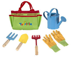 little gardener tool set with garden tools bag for kids gardening kit includes