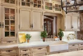 image of kitchen cabinet refacing mediterranean