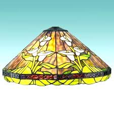 tulip lamp shade shades replacements bytes lily