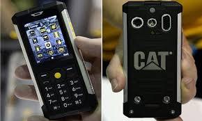 Cat B100 is waterproof, heatproof and ...