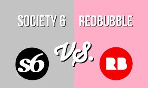 Society6 T Shirt Size Chart Full Comparison Of Redbubble Vs Society6 Print On Demand