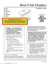 heat n glo sl 32 manuals heat n glo sl 32 installer s manual