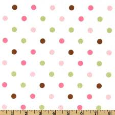 Cozy Cotton Flannel Polka Dot Pink from @fabricdotcom From Kaufman ... & Cozy Cotton Flannel Polka Dot Pink from @fabricdotcom From Kaufman comes