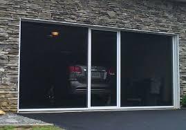 garage door screen panel garage screen doors garage door screen panels how to make a garage