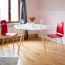 Runder Esstisch Tisch Holztisch Esszimmertisch Nordisch Groß Schwarz